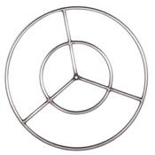 metal fire pit burner ring